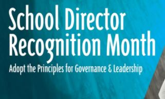Our press release on School Director Recognition Month.